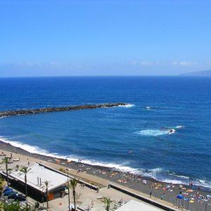 Pláž kanárské ostrovy - Playa Martianez