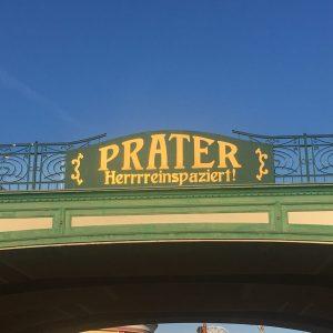 Vchod do Prater