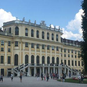 Zadní strana Schönbrunn