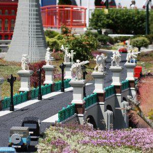 Socha v Legolandu německo