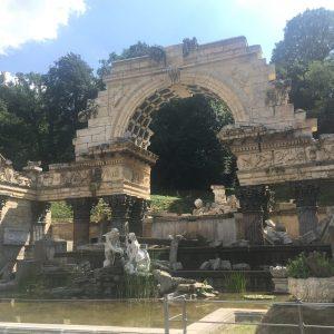 Římské ruiny, Schönbrunn