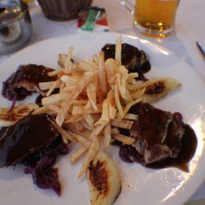Jídlo v Puerto de la cruz