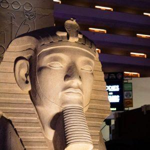Sfinga v hotelu Luxor - Las vegas