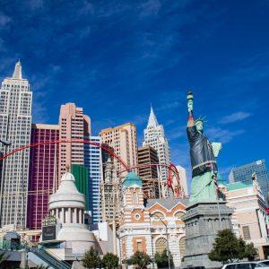 Hotel New York New York v Las Vegas