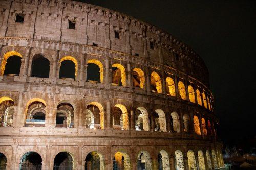 Noční koloseum Řím
