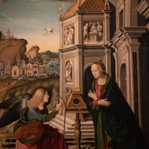 Obraz ve Vatikánském muzeu