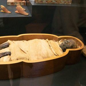 Mumie ve Vatikánském muzeu