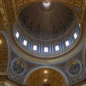 Kopule svatopeterské baziliky