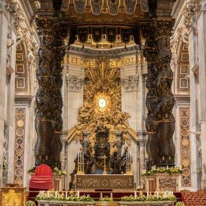 Oltář Svatopeterská bazilika