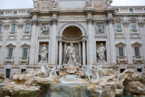 fontána trevi