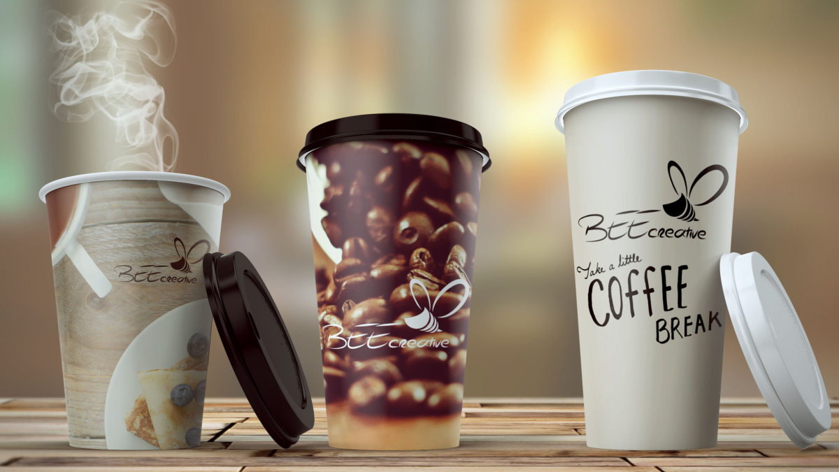 BC coffe cup